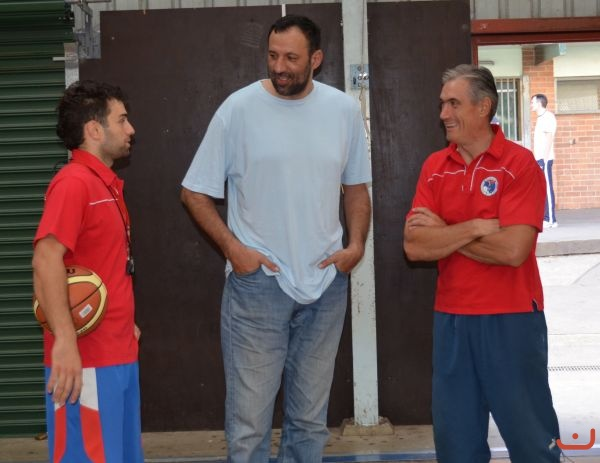 Vlade Divac<br />With Red<br />Stars_2013_1