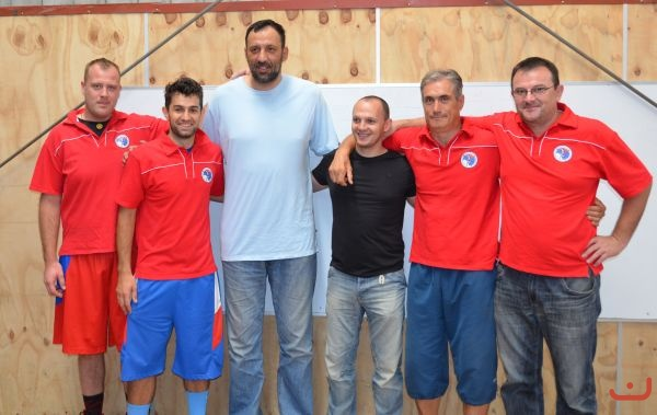 Vlade Divac<br />With Red<br />Stars_2013_1<br />2