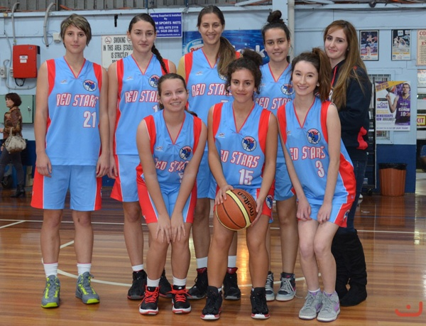 Red Stars<br />Girls Team<br />U20