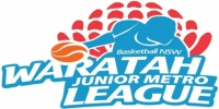 NSW Basketball Sydney Metro 2015 Junior/Senior Representative Trials