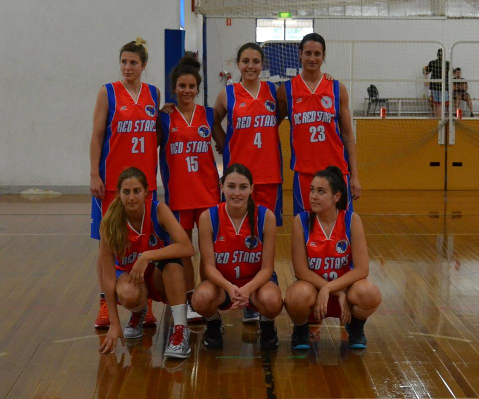 Red Stars Women team DMC 2014